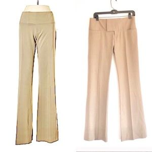 Alvin Valley Lightweight Wool Low Rise Flare Pants